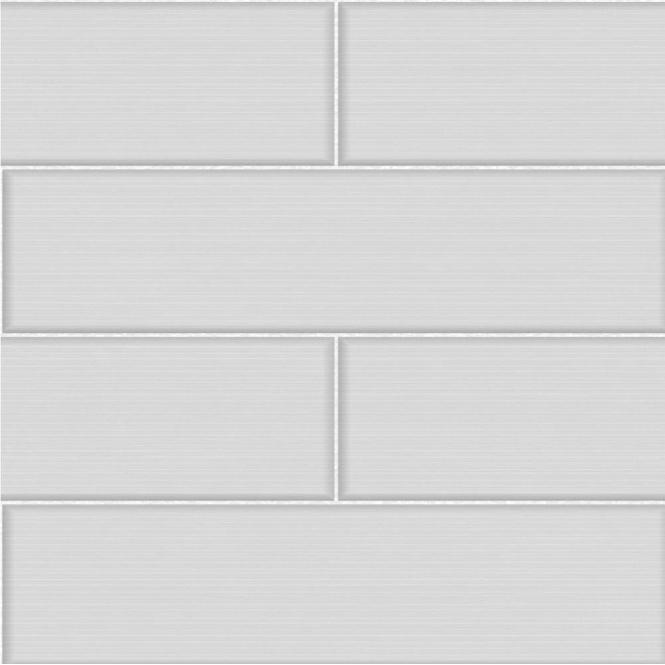 Ceramica Large Tile Effect Wallpaper Soft Grey White FD40121