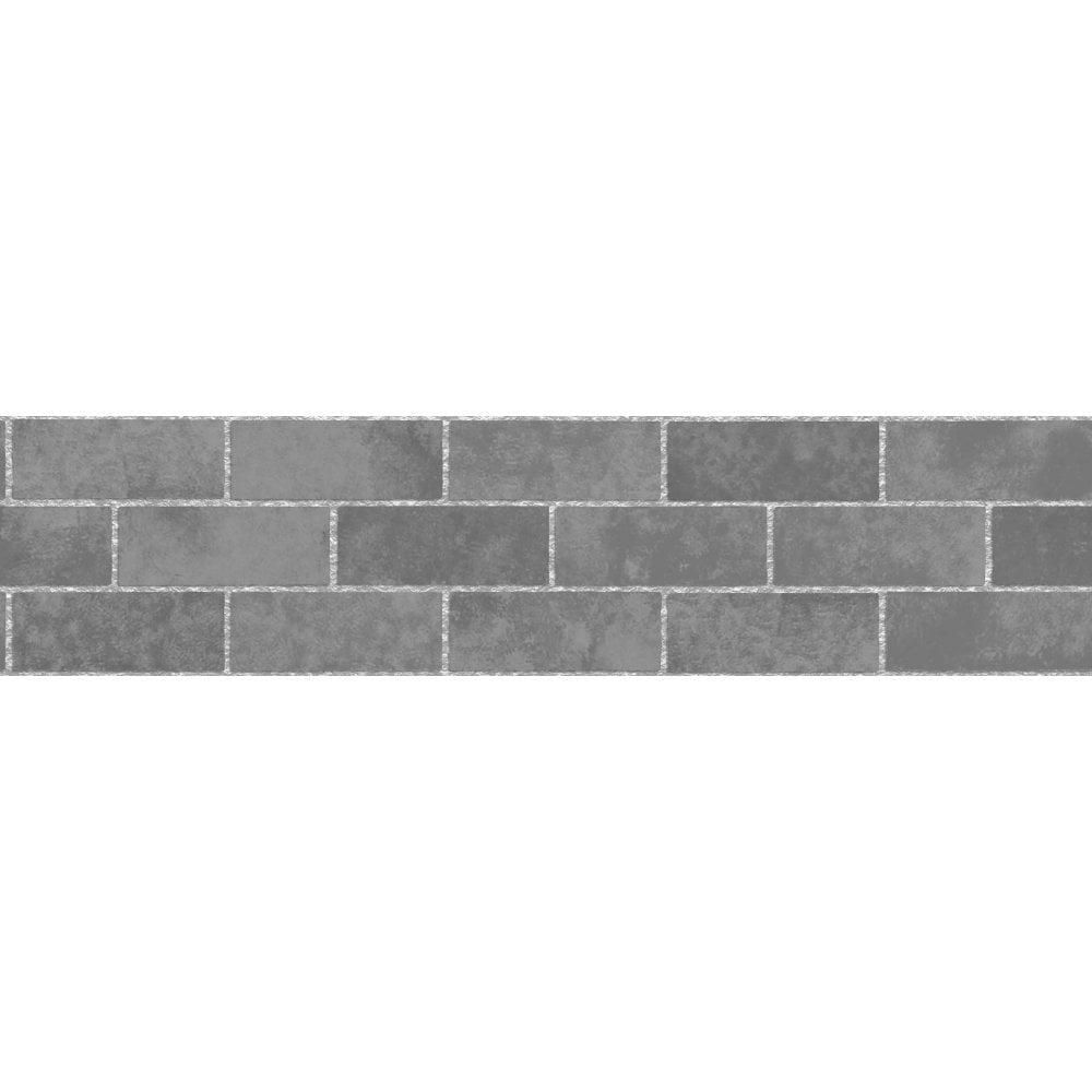 Fine Decor Ceramica Stone Tile Self Adhesive Border Slate