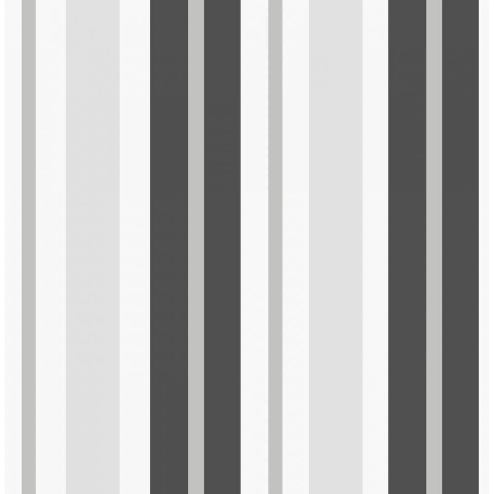 Fine Decor Ceramica Stripe Wallpaper Black Silver White Fd40377 From I Love Uk