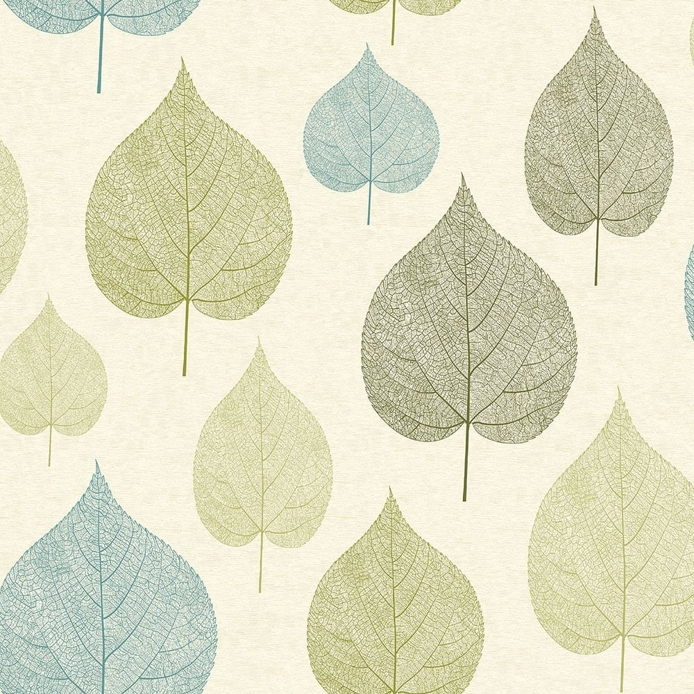 Crown Signature Leaf Wallpaper Green M1071