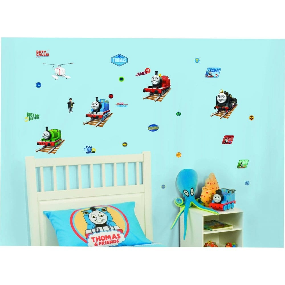 Thomas U0026amp; Friends Harold The Helicopter Wall Stickers Stikarounds  (SA30171)   Sample