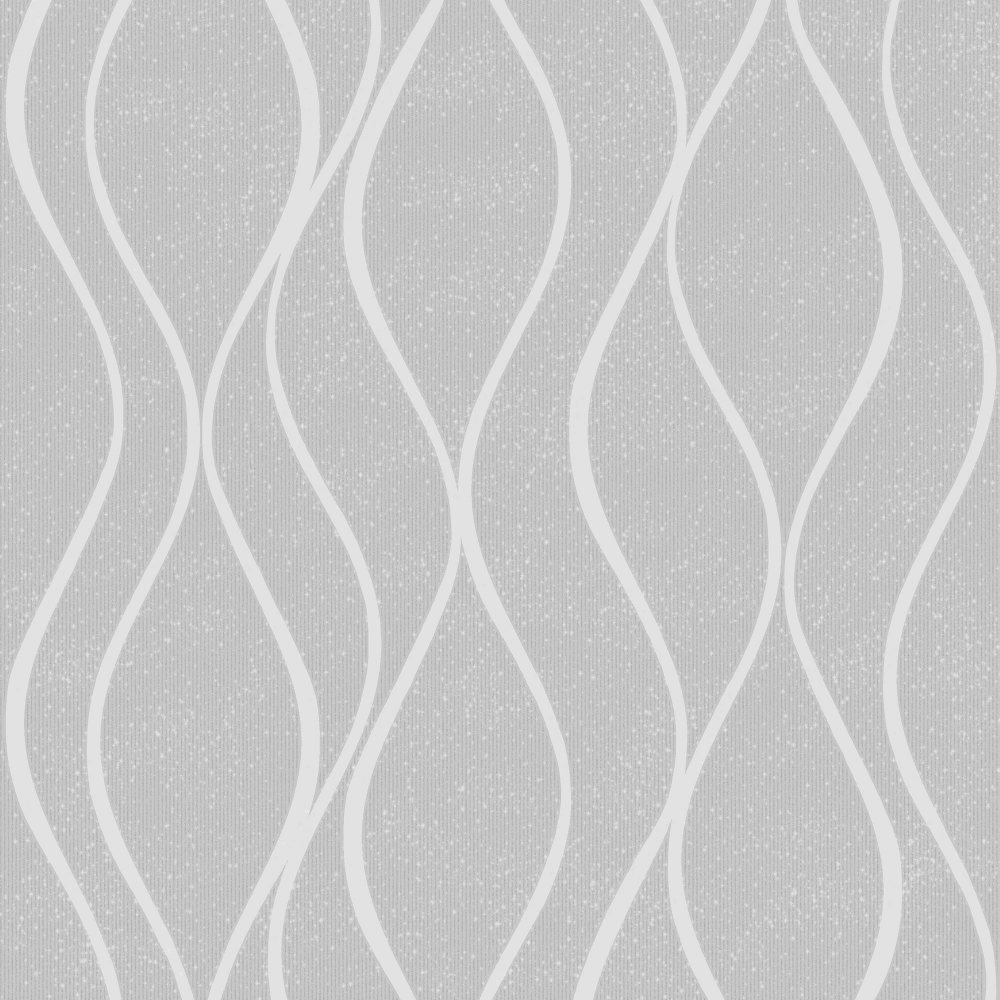 Henderson Interiors Camden Wave Textured Glitter Wallpaper