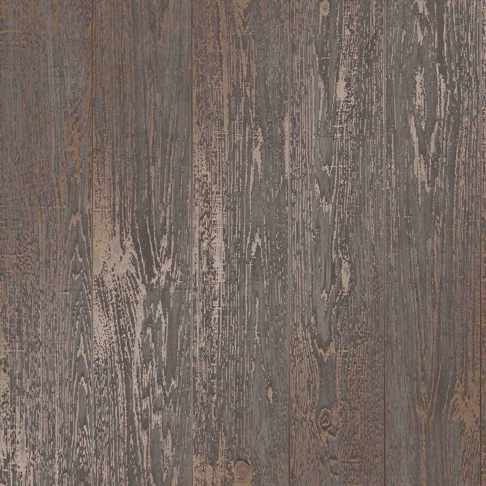 I Love Wallpaper Metallic Plank Brown ILW980081
