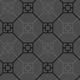 Kato San Geometric Wallpaper Black (900203)