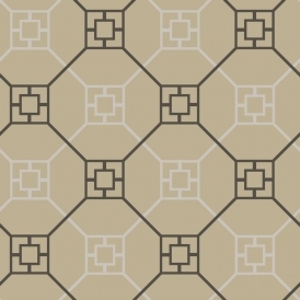 Kato San Geometric Wallpaper Mink (900200)