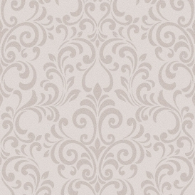 luxe damask glitter wallpaper rose gold 144803