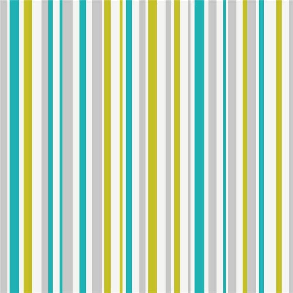 Arthouse Opera Super Stripe Wallpaper Teal Green 533606