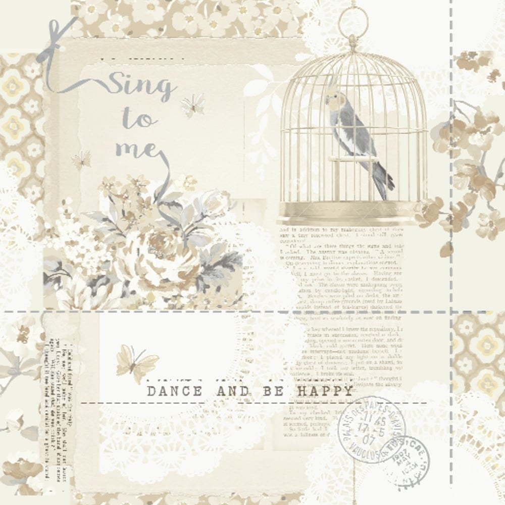 arthouse options 2 sing to me shabby chic wallpaper neutral 671301
