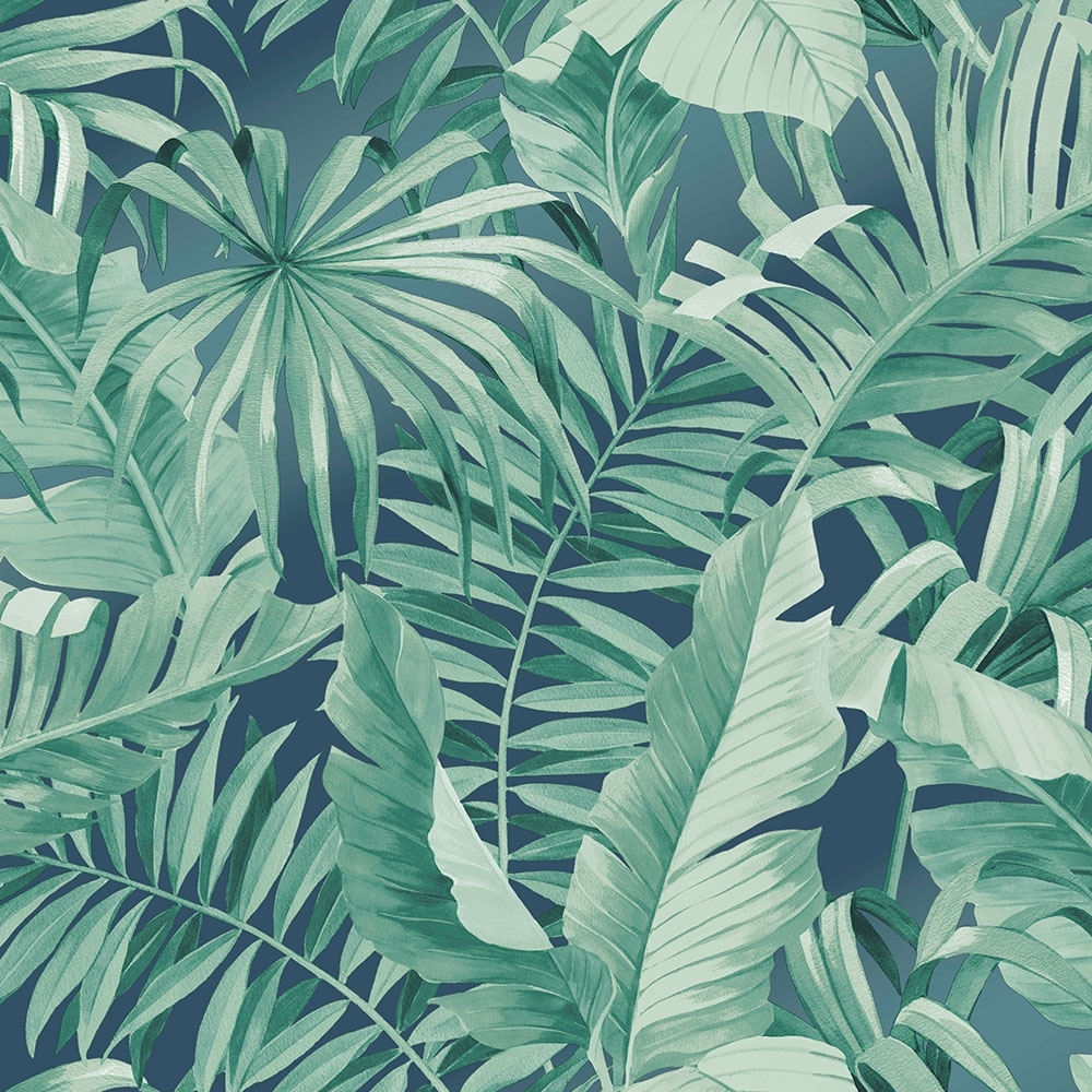 lucie annabel palma tropical wallpaper emerald