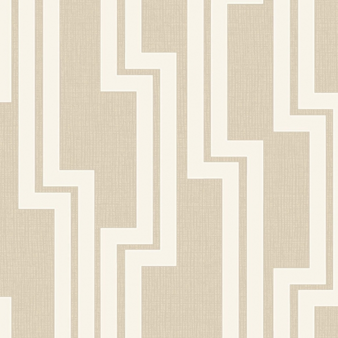 Arthouse Parallel Geometric Wallpaper Neutral 901904