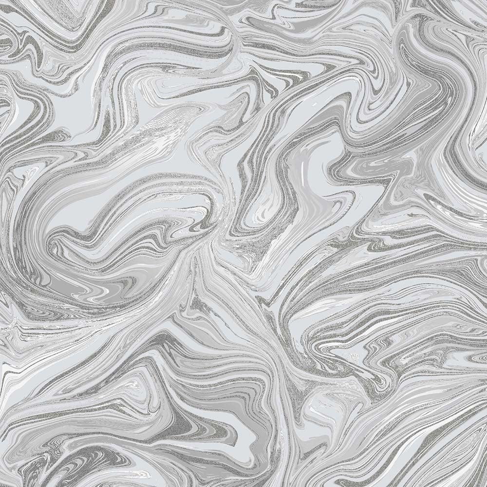 Henderson Interiors Prosecco Sparkle Marble Wallpaper Grey