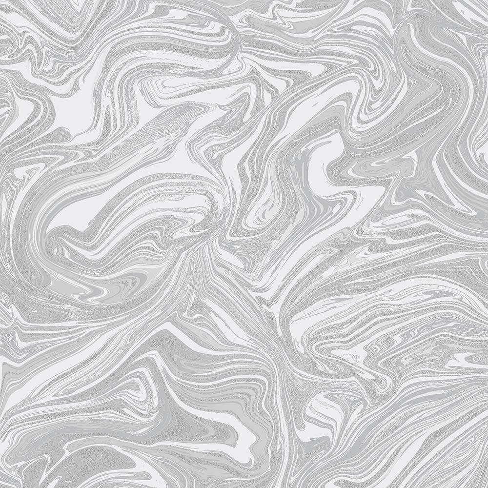 Henderson Interiors Prosecco Sparkle Marble Wallpaper White Silver Wallpaper From I Love Wallpaper Uk