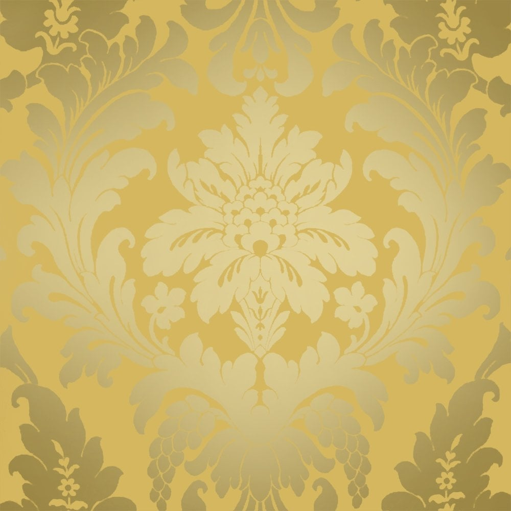 I love wallpaper shimmer metallic grande damask wallpaper for Designer wallpaper sale