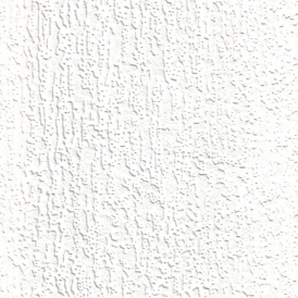 Supatex Fine Bark Pure White Textured Paintable Wallpaper (21511)