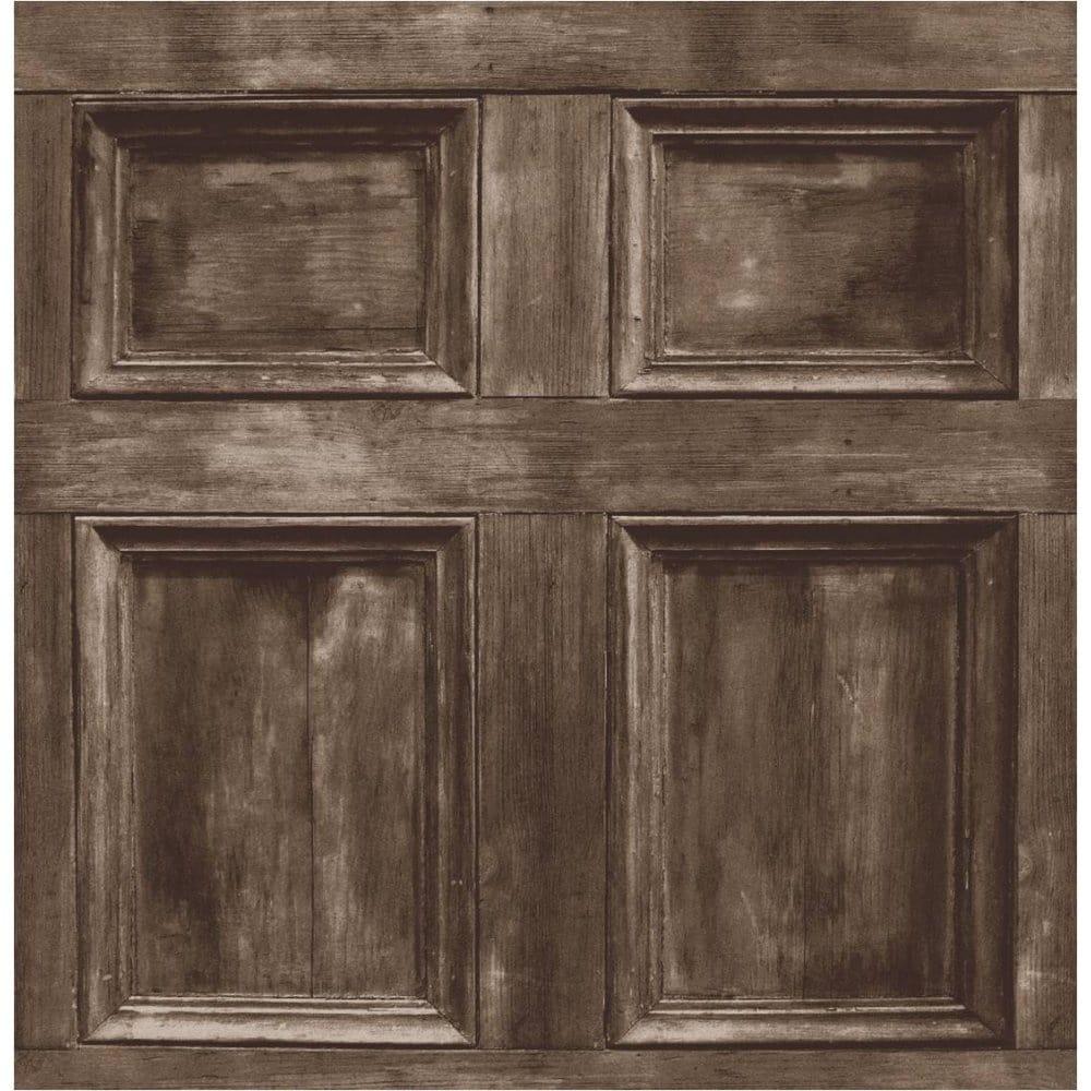 - Buy Fine Decor Wood Panel Wallpaper Chocolate Brown
